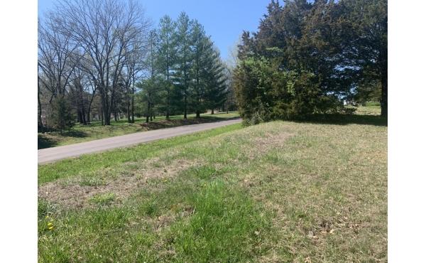 2.7 acre lot